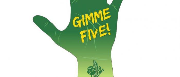 A.G. gimme five